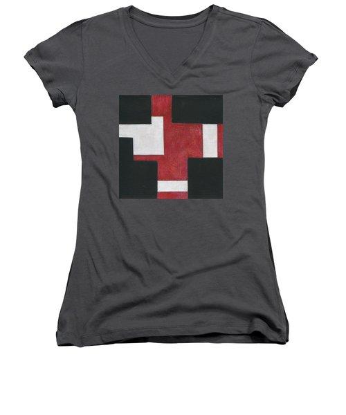 Forecast Delivered Women's V-Neck T-Shirt
