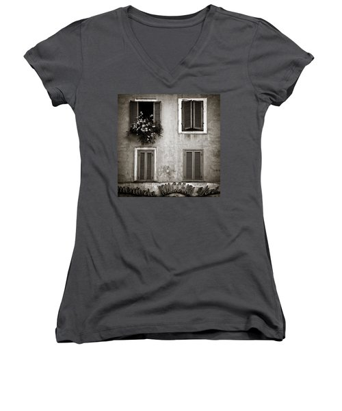 Four Windows Women's V-Neck T-Shirt