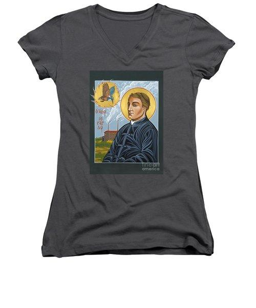 Fr. Gerard Manley Hopkins The Poet's Poet 144 Women's V-Neck