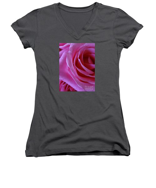 Face Of Roses 2 Women's V-Neck (Athletic Fit)