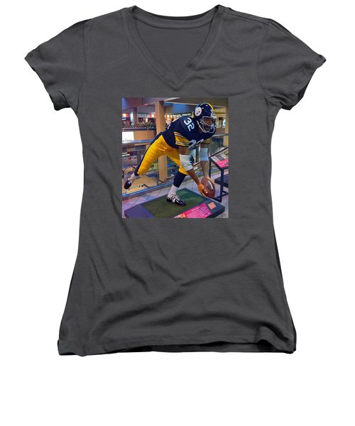 Franco's Immaculate Reception Women's V-Neck T-Shirt