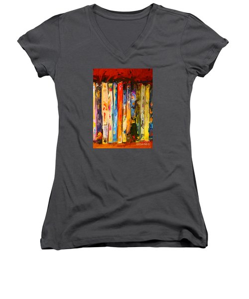 Free Your Mind Women's V-Neck T-Shirt