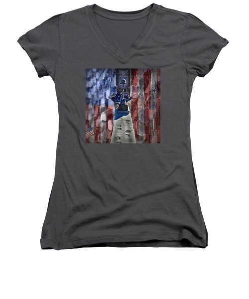 Freedom Ain't Free Women's V-Neck T-Shirt