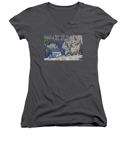 Fresh Snow Women's V-Neck T-Shirt