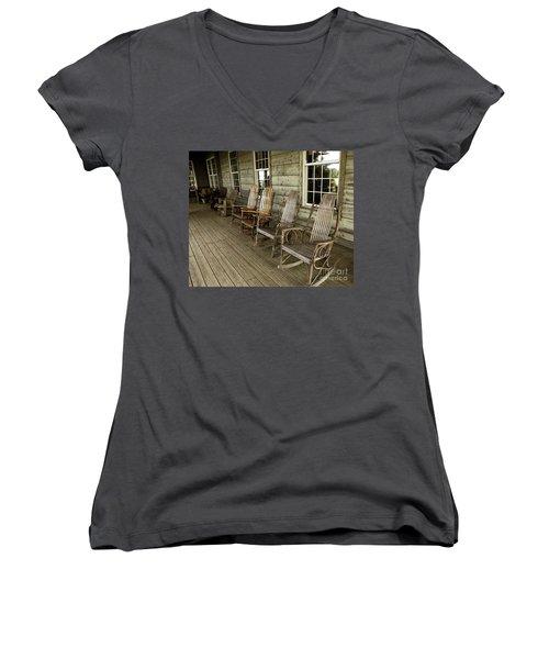 Front Porch Women's V-Neck T-Shirt
