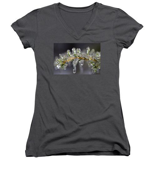 Frozen Yew Women's V-Neck T-Shirt