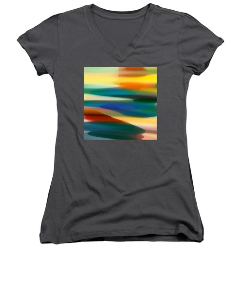Fury Seascape 5 Women's V-Neck (Athletic Fit)