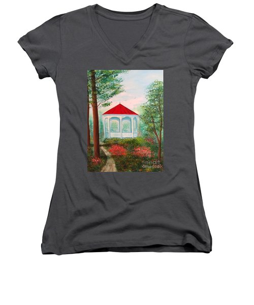 Gazebo Dream Women's V-Neck (Athletic Fit)