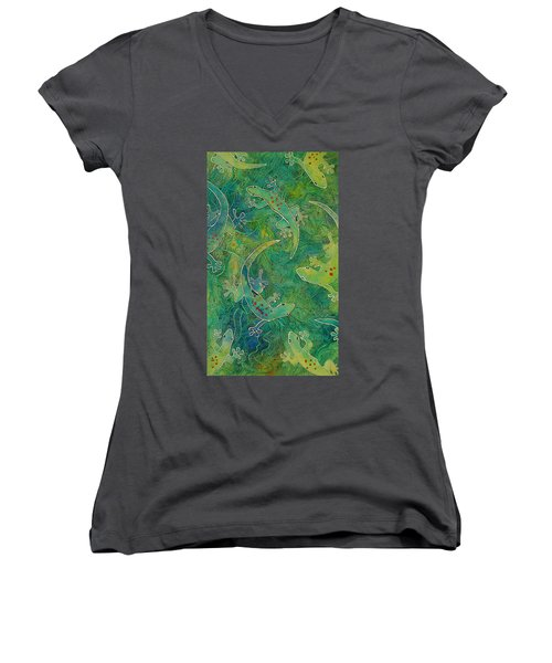 Gecko Magic Women's V-Neck