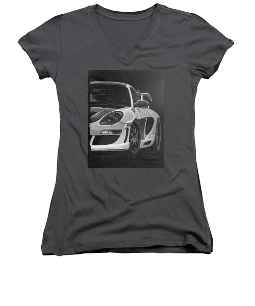 Gemballa Porsche Left Women's V-Neck