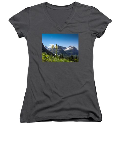 Glacier Grass Women's V-Neck