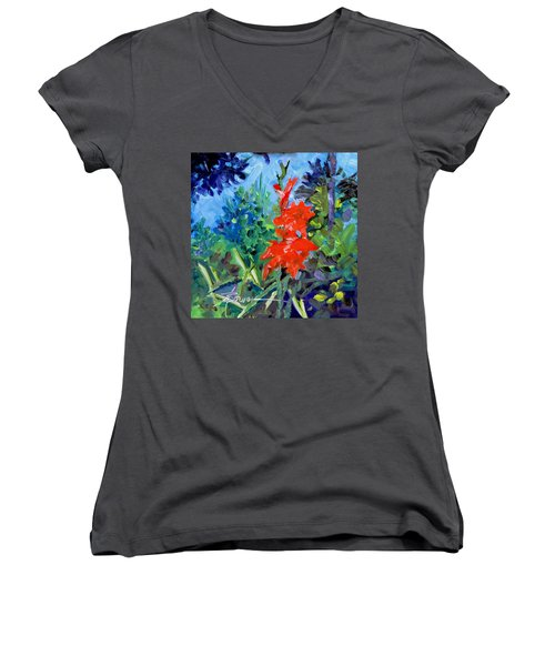 Gladiolus Women's V-Neck