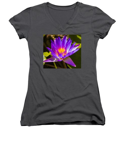 Glowing From Within Women's V-Neck T-Shirt