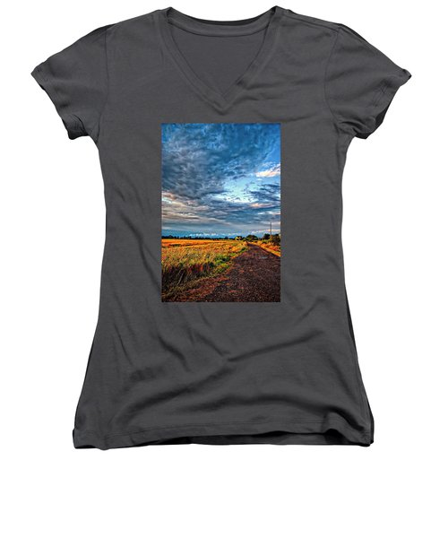 Goin' Home Women's V-Neck T-Shirt