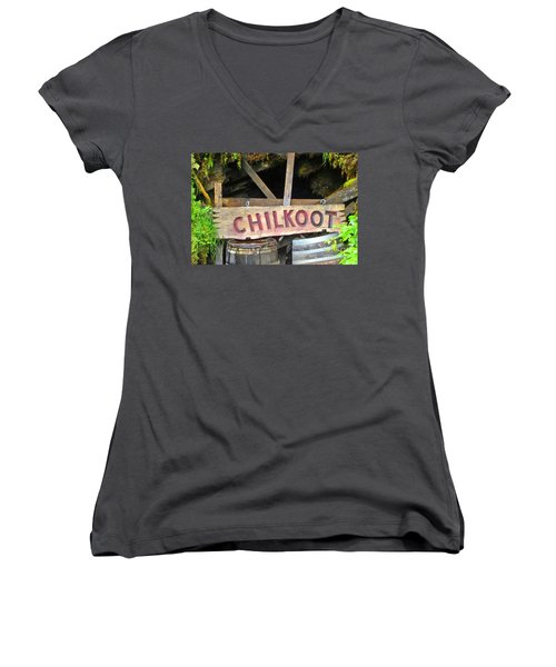 Gold Mine Women's V-Neck (Athletic Fit)