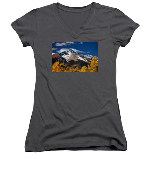 Golden Afternoon Women's V-Neck