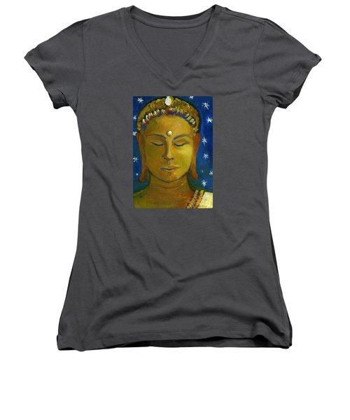 Golden Buddha Women's V-Neck