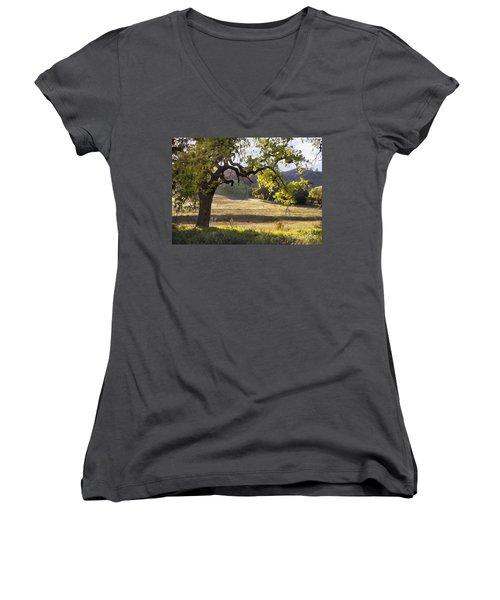 Golden Oaks Women's V-Neck T-Shirt