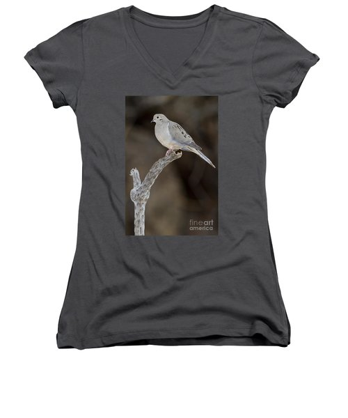 Good Mourning Women's V-Neck T-Shirt (Junior Cut) by Bryan Keil