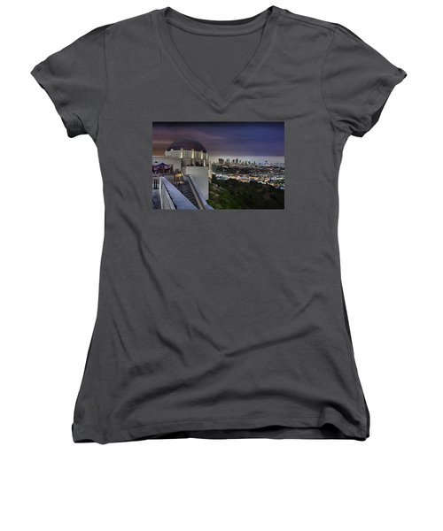 Gotham Griffith Observatory Women's V-Neck