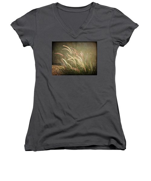 Grasses In Beauty Women's V-Neck