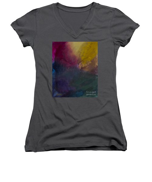 Green Pastures Women's V-Neck T-Shirt