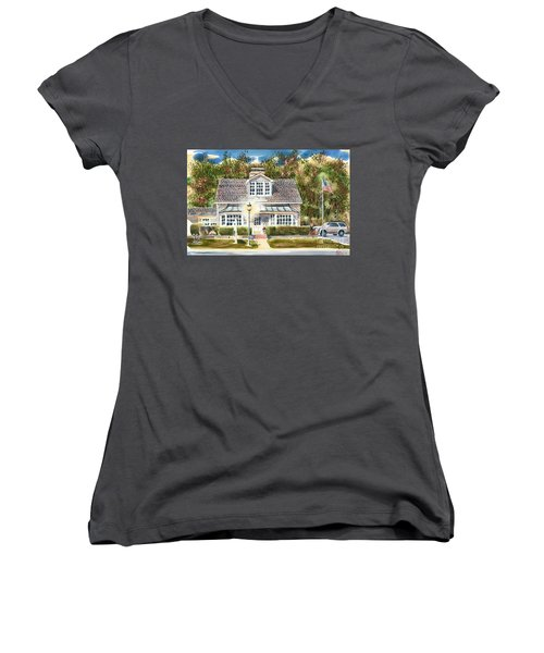 Greystone Inn II Women's V-Neck