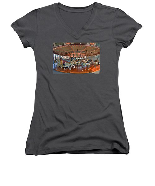 Hampton Carousel 2 Women's V-Neck T-Shirt