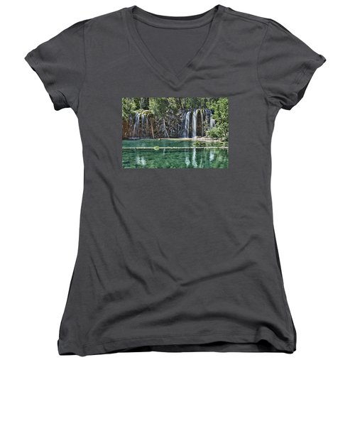 Hanging Lake Women's V-Neck (Athletic Fit)