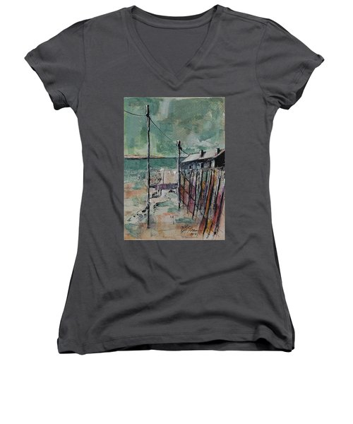 Harbormaster's Home Away From Home Women's V-Neck T-Shirt