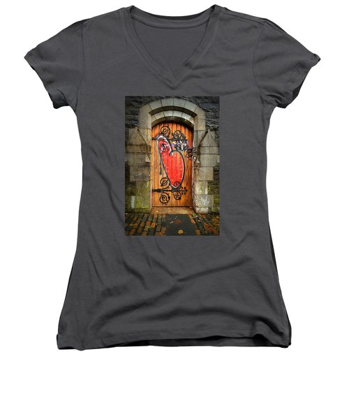 Have A Heart - Don't Desecrate Women's V-Neck T-Shirt