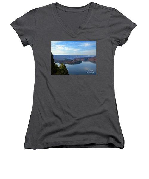 Hawn's Overlook Women's V-Neck T-Shirt