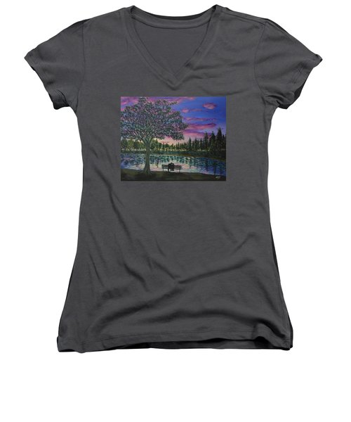 Heartwell Park Women's V-Neck (Athletic Fit)