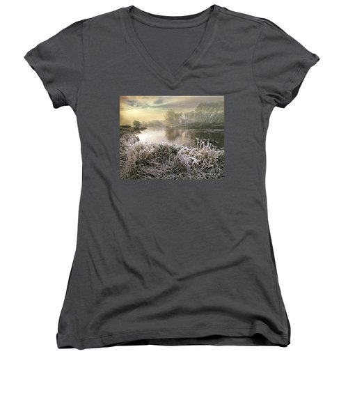 Here Comes The Sun Women's V-Neck