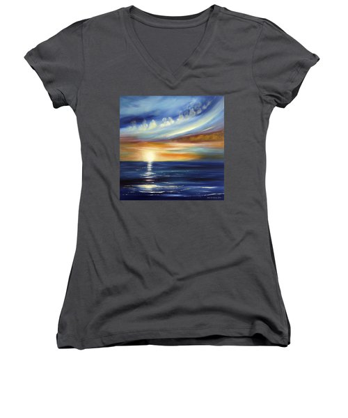 Here It Goes 2 Women's V-Neck (Athletic Fit)