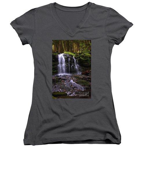 Hidden Waterfalls Of Wayne County I Women's V-Neck