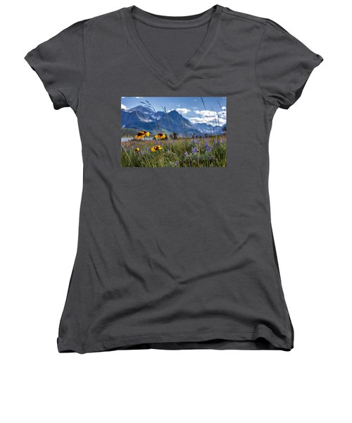 High Plains Women's V-Neck T-Shirt