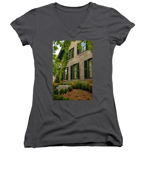 Historic Concord Home Women's V-Neck (Athletic Fit)