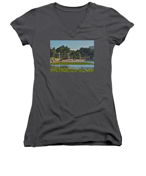 Hollis Gardens II Women's V-Neck T-Shirt
