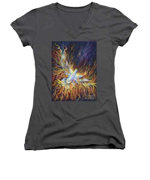 Holy Fire Women's V-Neck
