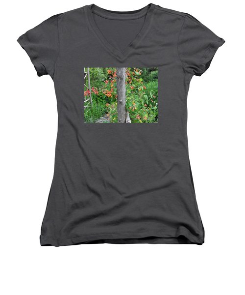 Honeysuckle's Friend Women's V-Neck (Athletic Fit)
