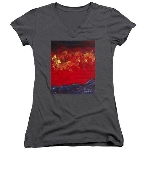 Horsemen Women's V-Neck T-Shirt