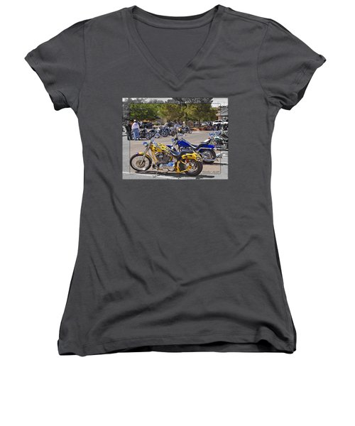 Horses Of Iron24 Women's V-Neck T-Shirt