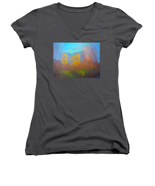 House In Blacksburg Women's V-Neck