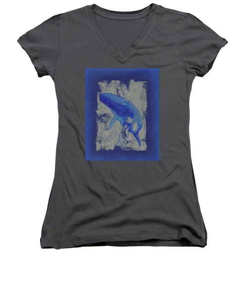 Humpback Whale Song Women's V-Neck
