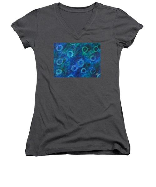 Hypochromic Rbc's Women's V-Neck T-Shirt