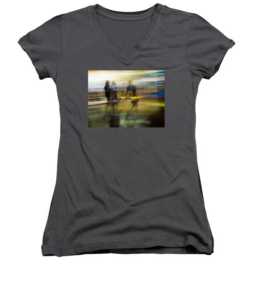Dreaming In Color Women's V-Neck (Athletic Fit)