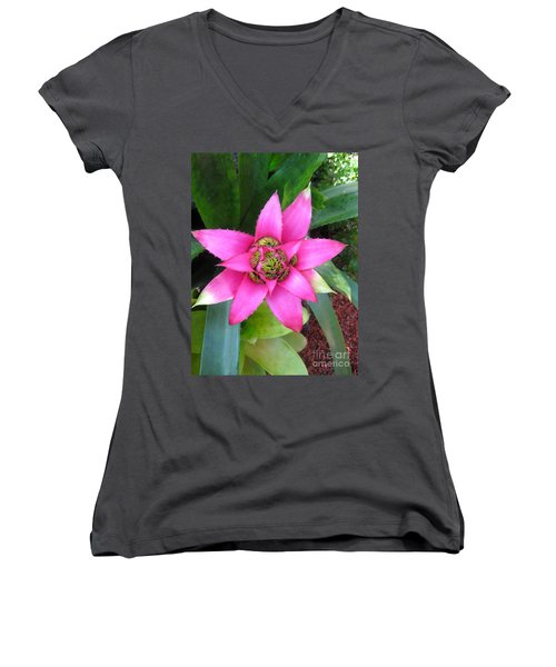 Pink And Beautiful  Women's V-Neck T-Shirt