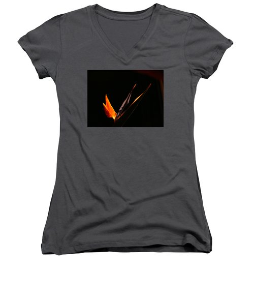 Women's V-Neck T-Shirt (Junior Cut) featuring the photograph I Love You by Evelyn Tambour