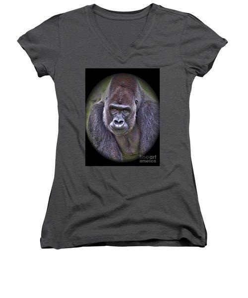 I'm Boss Women's V-Neck T-Shirt